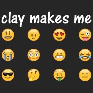 clay makes me pottery shirt